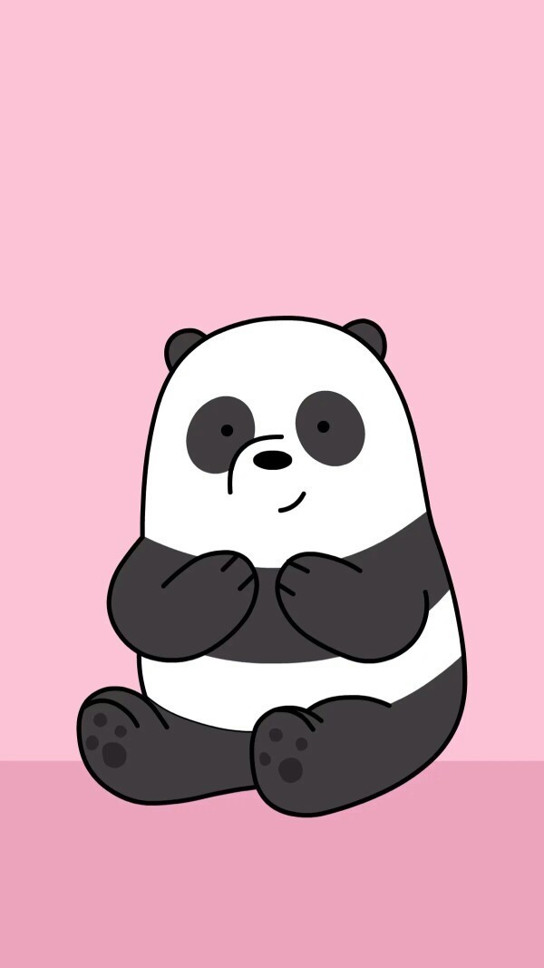 panda, animal, and cartoon image