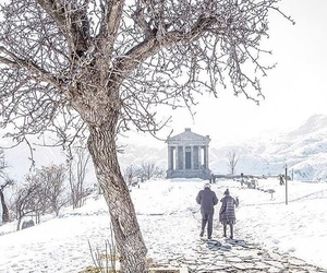 armenia, december, and garni image