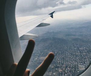 travel, world, and airplane image