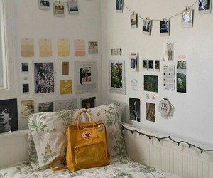 aesthetic, bedroom, and polaroids image