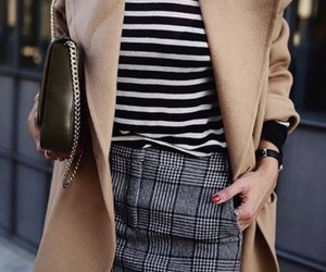 coat, outfit, and skirt image