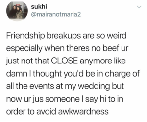 breakup, friendship, and funny image
