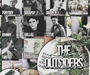80s, Ponyboy Curtis, and the outsiders image