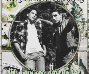 the outsiders, sodapop curtis, and steve randle image