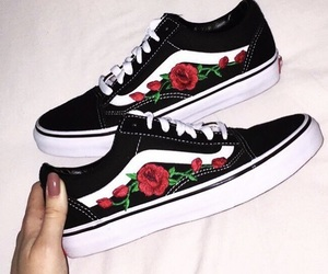 vans and rose image