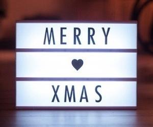 winter, christmas, and merry christmas image