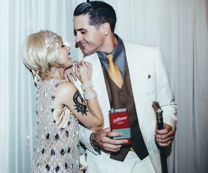 halsey, g-eazy, and Halloween image