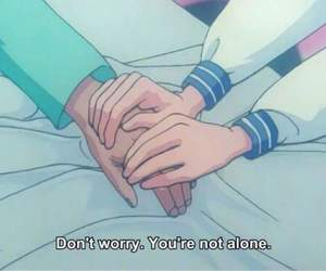 alone, anime, and quotes image