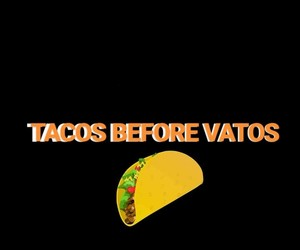 black, taco, and tacos image