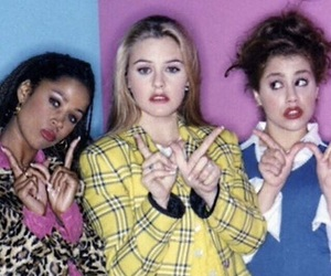 Clueless, 90s, and whatever image