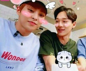 Chen, exo, and mochi image