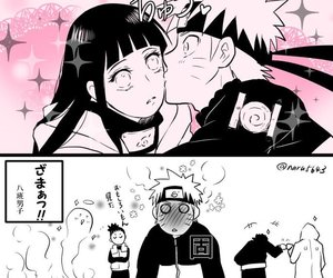 couple, kiba, and kiss image