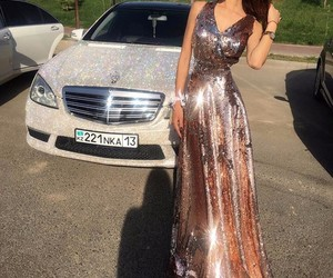 car, chic, and dress image