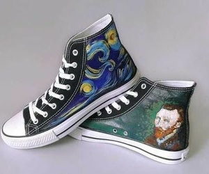 converse, diy, and paint image