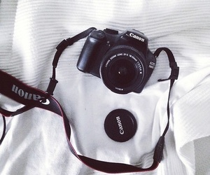 canon, camera, and cool image