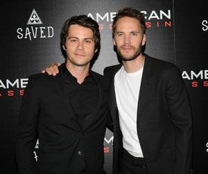 taylor kitsch, dylan o'brien, and american assassin image