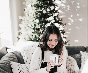 christmas, girl, and holidays image