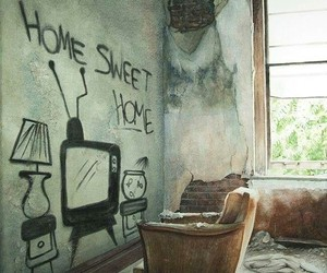 home, art, and sweet image