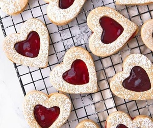 Cookies, delicious, and heart image