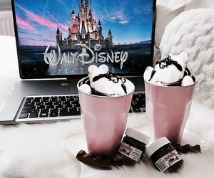 disney, chocolate, and cozy image