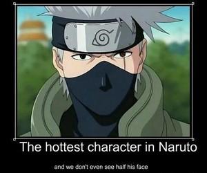 naruto, ninja, and kakashi hatake image