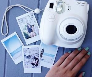 camera, polaroid, and photo image