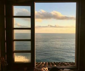 sky, beautiful, and ocean image