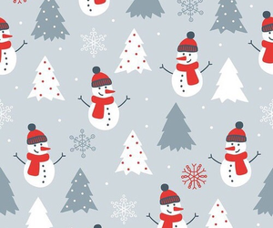 christmas, background, and snowman image