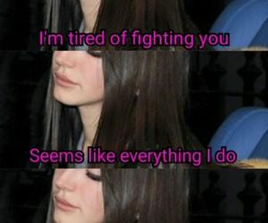 breakup, fighting, and Lyrics image