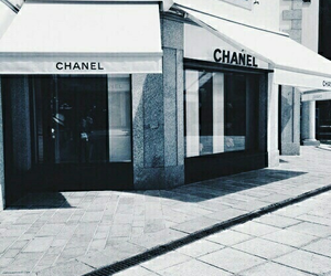 chanel, blue, and theme image