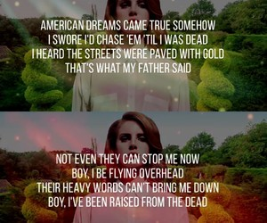 2012, born to die, and lana image