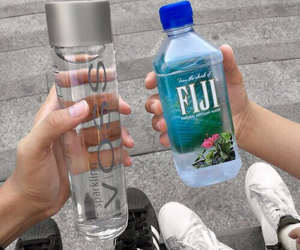 water, fiji, and voss image