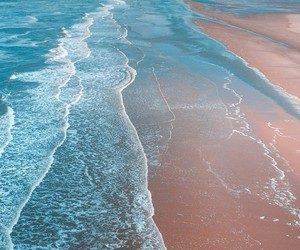 sea, wallpaper, and beach image