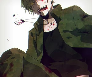 anime, blood, and happy tree friends image
