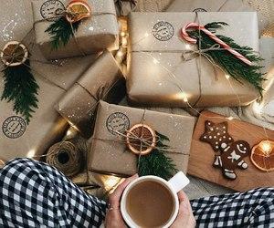 christmas, gift, and winter image