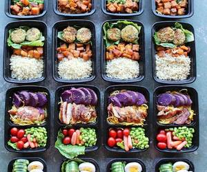 food, meal, and preparation image