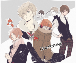 persona, genderbend, and p5 image