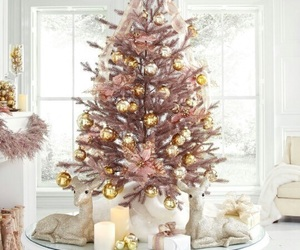 rose gold and christmas image