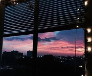 sky, lights, and city image