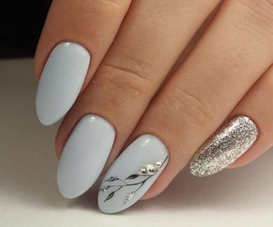 nails, style, and manicure image