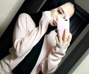 hijab, ﺭﻣﺰﻳﺎﺕ, and حجاب image