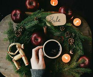 candle, christmas, and craft image