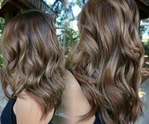 beautiful, hair, and color image