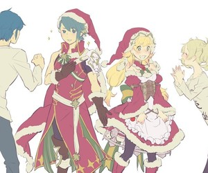 christmas, video game, and fire emblem image