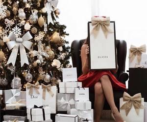 christmas, gift, and gucci image