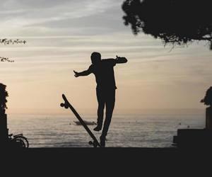 board, boy, and longboard image