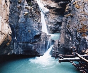 bue, travel, and waterfall image