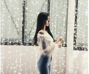 korean, girl, and kfashion image