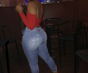outfit, pretty, and thick image