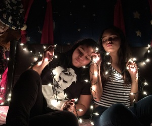 best friends, christmas, and friendship image